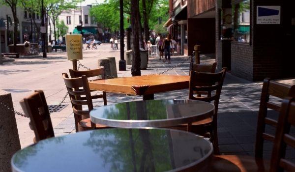 restaurants outdoor dining
